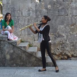 concerto no castelo de Leiria